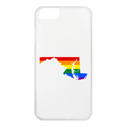 Maryland Rainbow Flag LGBT Community Pride LGBT Shirts
