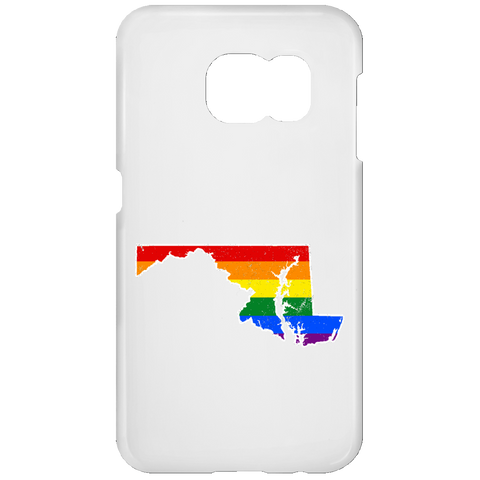 Maryland Rainbow Flag LGBT Community Pride LGBT Shirts  Samsung Galaxy S7 Phone Case
