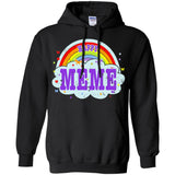 Happiest-Being-The Best Meme T Shirt  Pullover Hoodie 8 oz