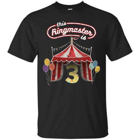 Kids Ringmaster Costume Circus Ringmaster Shirt 3rd Birthday Kids