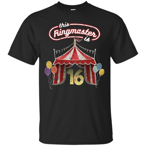Kids Ringmaster Costume Circus Ringmaster Shirt 16th Birthday Kids