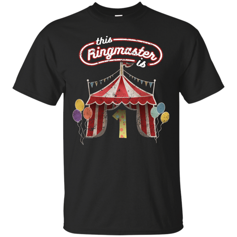 Kids Ringmaster Costume Circus Ringmaster Shirt 1st Birthday Kids