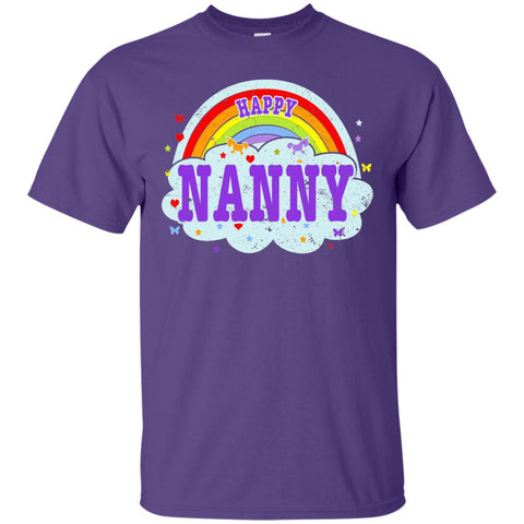 Happiest-Being-The Best Nanny-T-Shirt