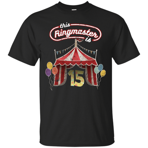 Kids Ringmaster Costume Circus Ringmaster Shirt 15th Birthday Kids