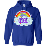 Happiest-Being-The Best Gigi-T-Shirt  Pullover Hoodie 8 oz