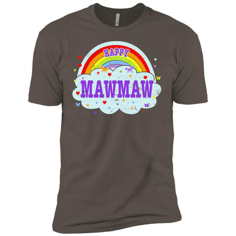 Happiest-Being-The Best Mawmaw T Shirt  Next Level Premium Short Sleeve Tee