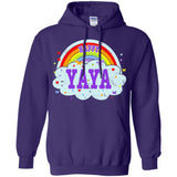 Happiest-Being-The Best Yaya-T-Shirt  Pullover Hoodie 8 oz