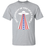 Space Force Shirt Department Of The Space Force US UFO Trump Parody