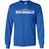 Deplorables LS Ultra Cotton Tshirt - Shoppzee