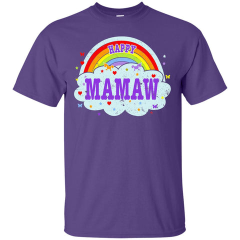 Happiest-Being-The Best Mamaw-T-Shirt