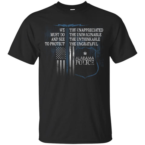 Alabama Police Support Police Shirt Law Enforcement Support