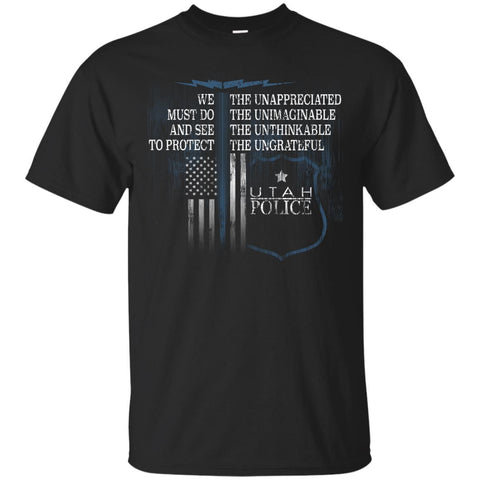 Utah Police Shirt Law Enforcement Support The Unappreciated