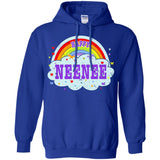 Happiest-Being-The Best NeeNee T Shirt  Pullover Hoodie 8 oz
