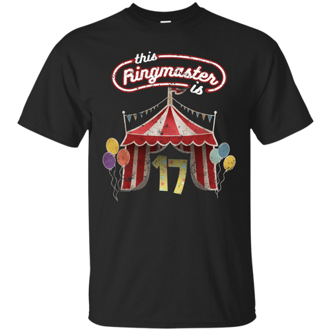 Kids Ringmaster Costume Circus Ringmaster Shirt 17th Birthday Kids