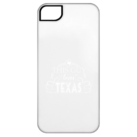 This Guy Loves Texas  iPhone 5 Tough Case