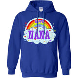 Happiest-Being-The Best Nana-T-Shirt  Pullover Hoodie 8 oz
