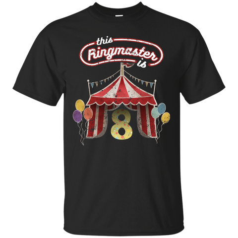 Kids Ringmaster Costume Circus Ringmaster Shirt 8th Birthday Kids