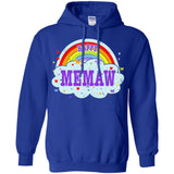 Happiest-Being-The Best Memaw-T-Shirt  Pullover Hoodie 8 oz