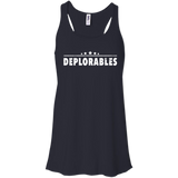Deplorables Bella+Canvas Flowy Racerback Tank - Shoppzee