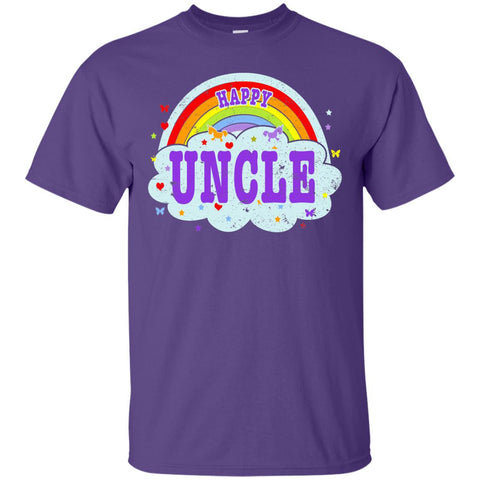 Happiest-Being-The Best Uncle T Shirt Funny Uncle T Shirt