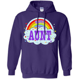 Happiest-Being-The Best Aunt-Shirt Crazy Aunt Shirt  Pullover Hoodie 8 oz