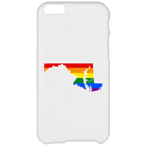 Maryland Rainbow Flag LGBT Community Pride LGBT Shirts  iPhone 6 Plus Case