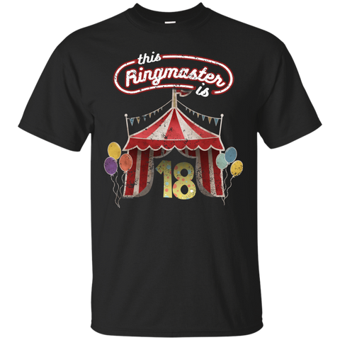 Kids Ringmaster Costume Circus Ringmaster 18th Birthday Kids Shirts