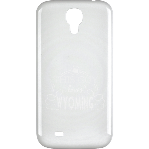 This Guy Loves Wyoming  Samsung Galaxy 4 Case