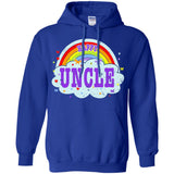 Happiest-Being-The Best Uncle T Shirt Funny Uncle T Shirt  Pullover Hoodie 8 oz