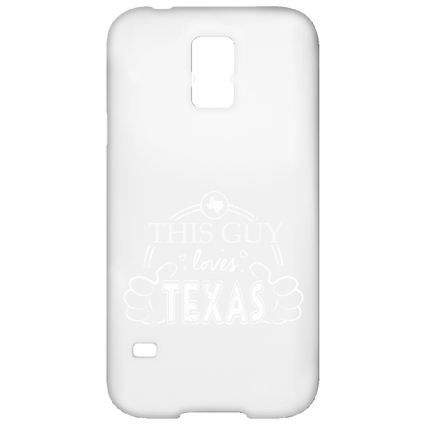 This Guy Loves Texas  Samsung Galaxy S5 Case