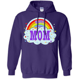 Happiest-Being-The Best Mom-T-Shirt Funny Mom T Shirt  Pullover Hoodie 8 oz