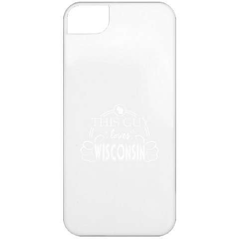This Guy Loves Wisconsin  iPhone 5 Case