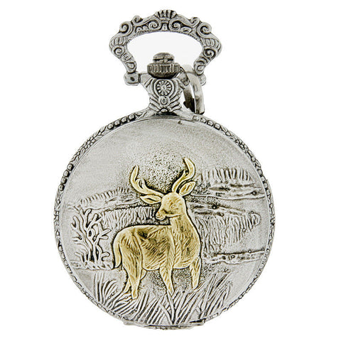 Deer Hunters & Outdoorsman Pocket Watch-Free Shipping - Shoppzee