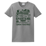 Spartan Teacher Grey/White