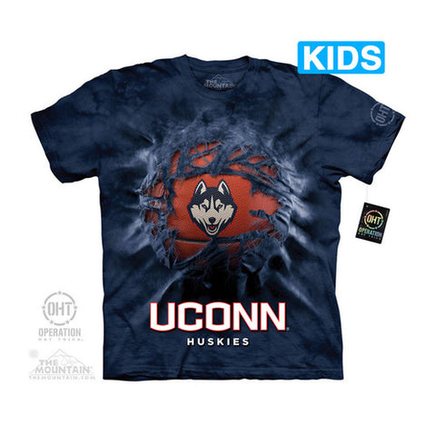 UCONN BREAKTHROUGH BBALL Kids T-Shirt - Shoppzee