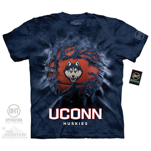 UCONN BREAKTHROUGH BBALL ADULT T SHIRT - Shoppzee
