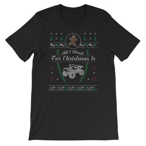4 Wheeler Christmas Ugly Off Roading Design