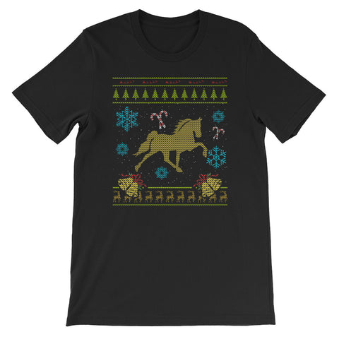 Tennessee Walking Horse Ugly Christmas Sweaters Design