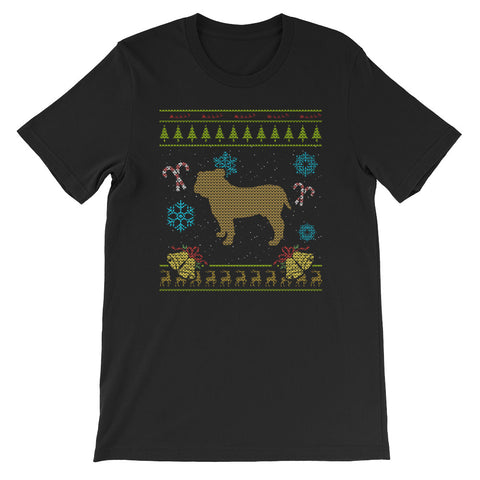 Ugly Christmas Design Bulldog Design French Bulldog Design