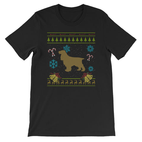 Ugly Christmas Design English Cocker Spaniel Design