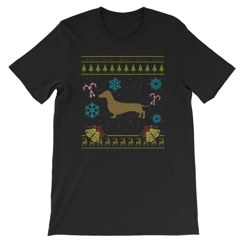Ugly Christmas Design Dachshund Design Doxie Design