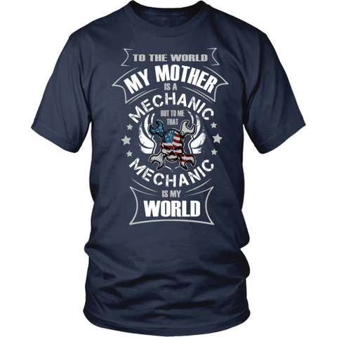 My Mother the Mechanic (frontside design)