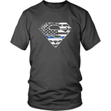 LEO Thin Blue Line Superhero