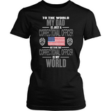 Dad Correctional Officer (frontside design) - Shoppzee