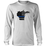 Wisconsin and UP Thin-Blue Line - Shoppzee