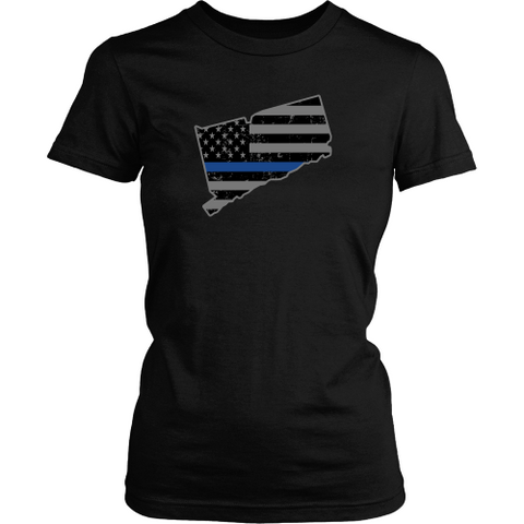 Connecticut Thin Blue Line - Shoppzee