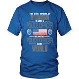 Grandson Police Officer (frontside design only)