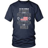 Daughter Police Officer (frontside design) - Shoppzee