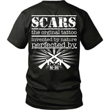 SCARS-Distressed Mix Back