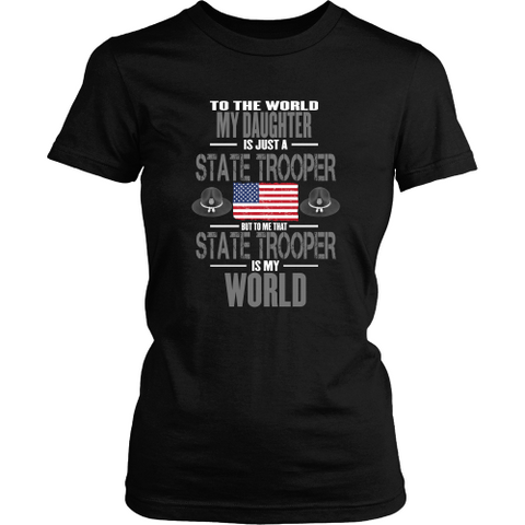 Daughter State Trooper (frontside design) - Shoppzee